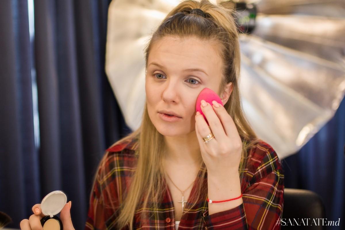 базовый макияж