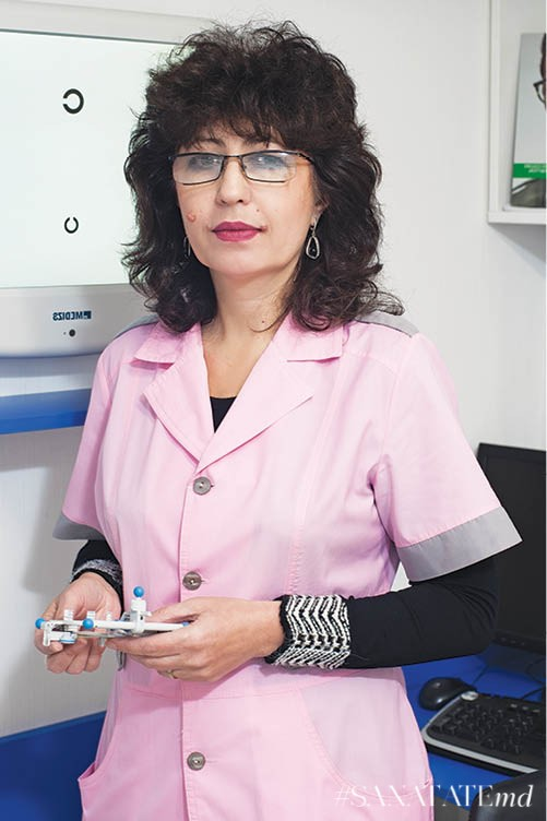 Elena Chisleacova, oftalmolog de categorie superioară