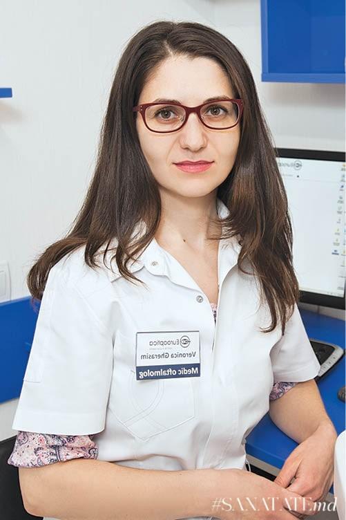 Veronica Gherasim, medic oftalmolog