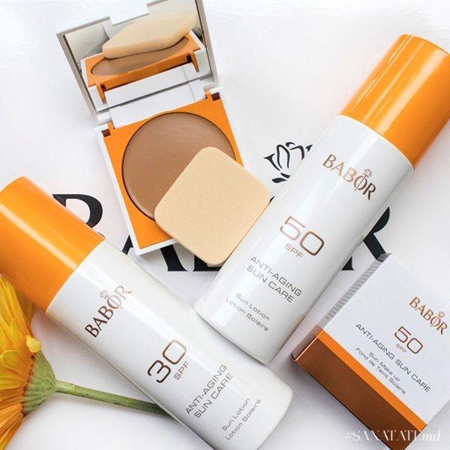 Anti-aging Sun Lotion Babor Cosmetics