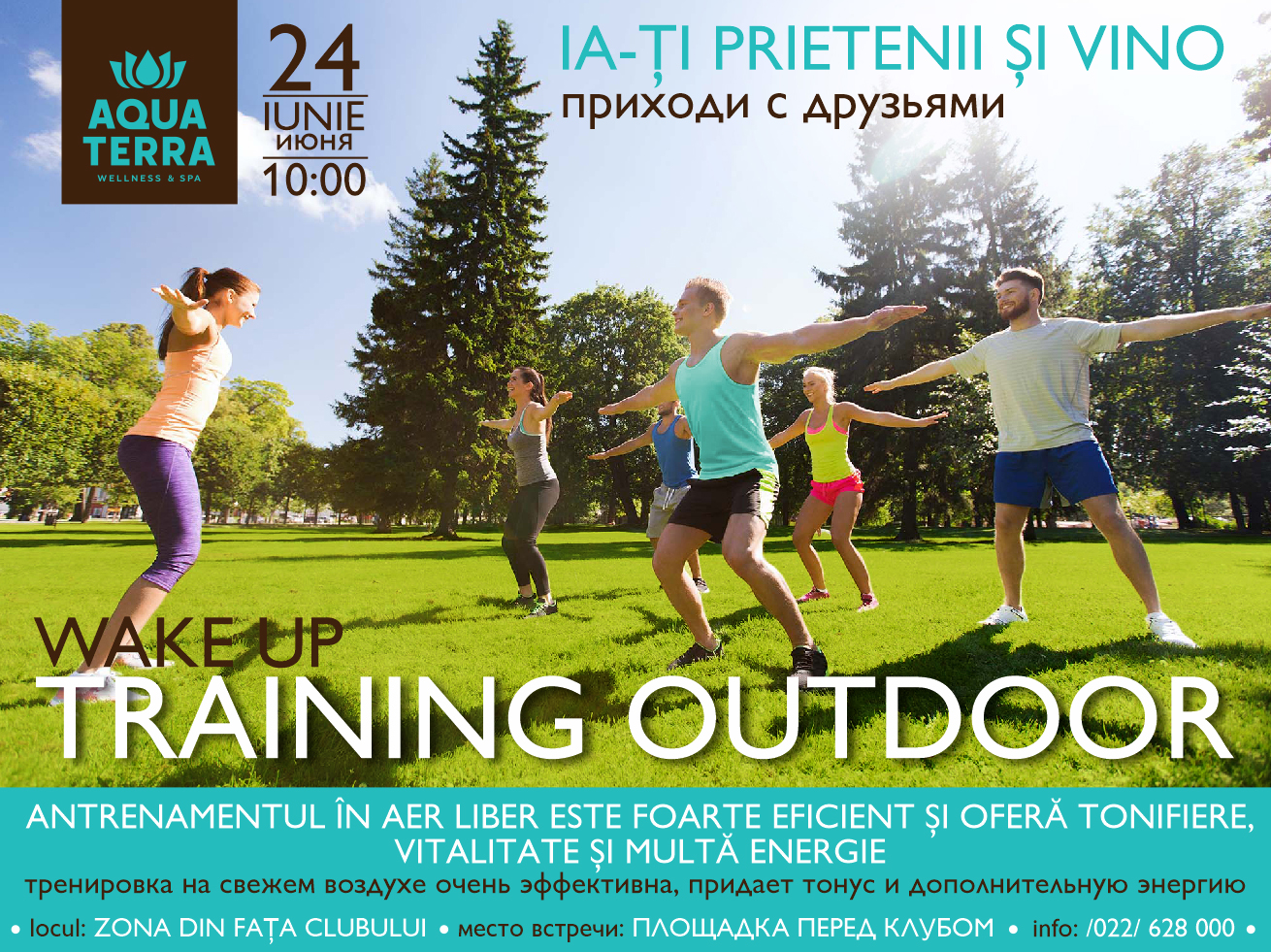 Wake up Training Outdoor