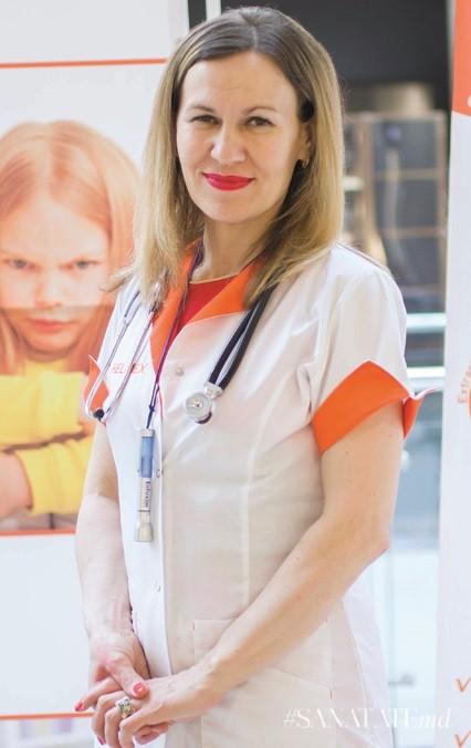 Наталья Харабарь, врач–педиатр