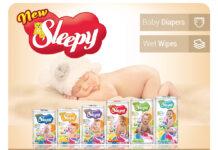 Уникальные подгузники Sleepy для любимого малыша