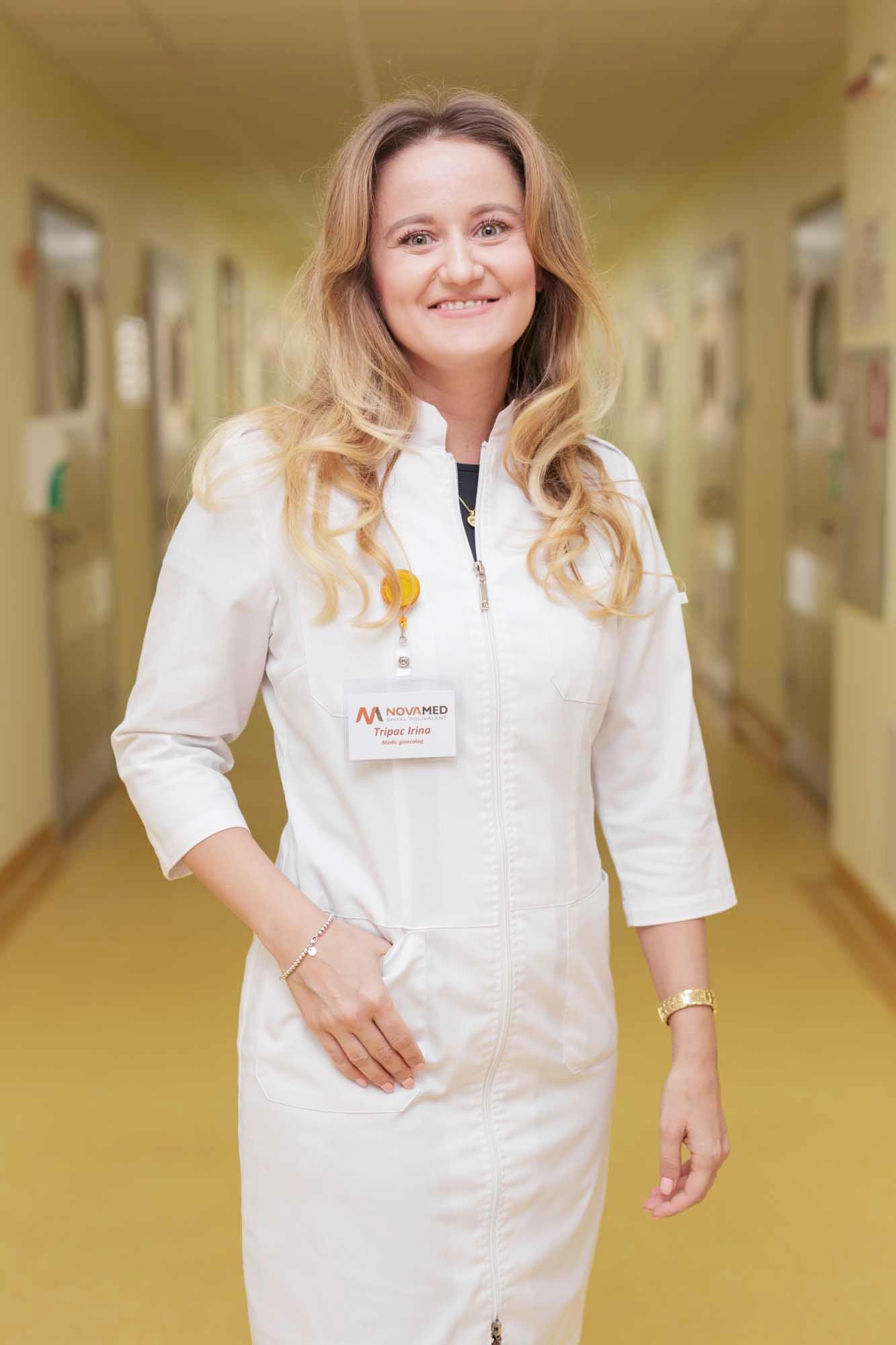 Tripac Irina, medic ginecolog, doctor în medicină