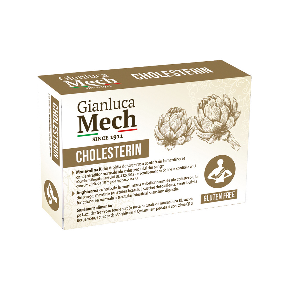 Gianluca Mech Cholesterin