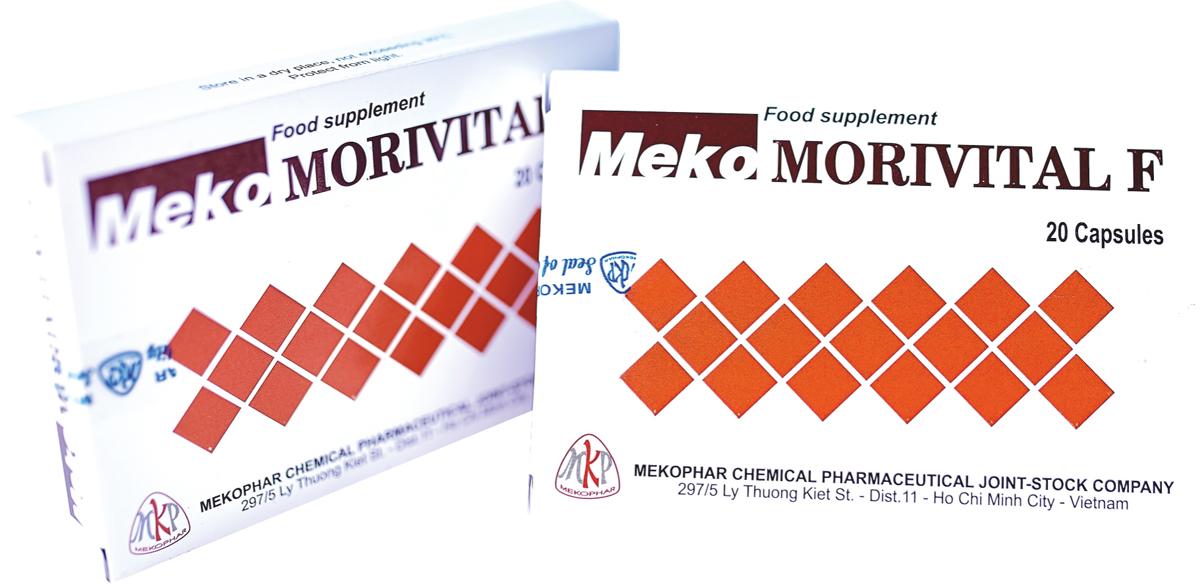 Mekomorivital F в аптеках Кишинева Orient