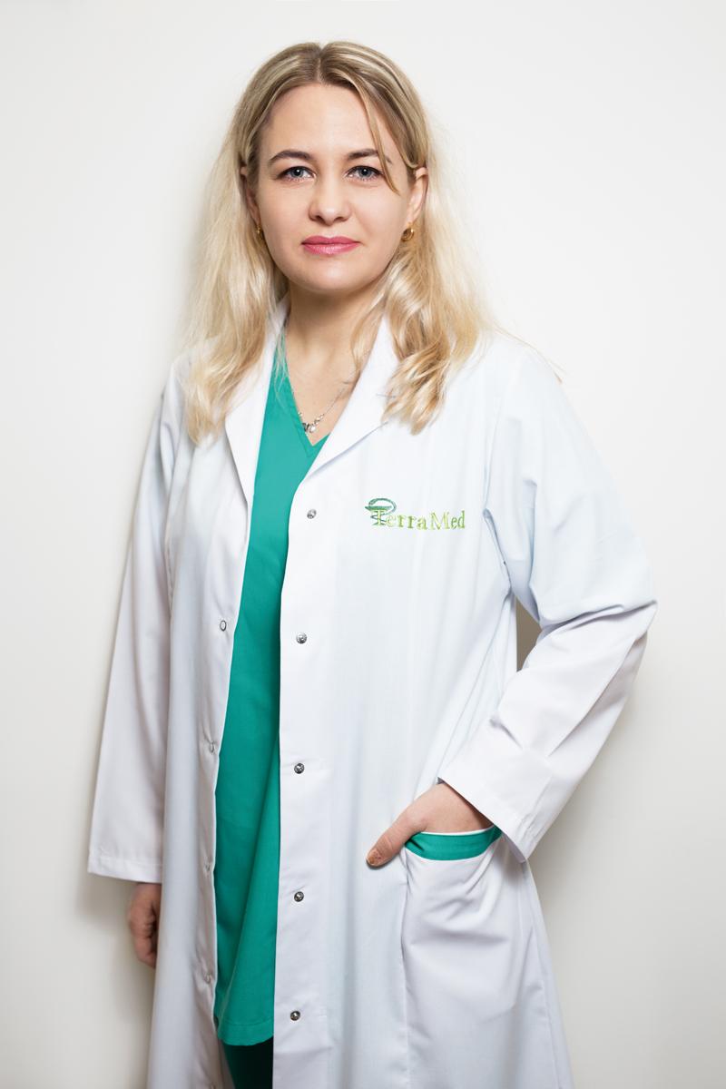 Наталья Трофимчук, врач-психолог, арт-терапевт клиники TerraMed