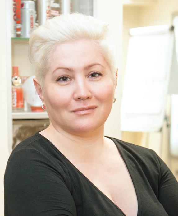 Людмила Ройбу, региональный тренер, Schwarzkopf Professional