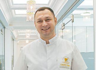 Владислав Касиян, главный врач клиники Cristi Dent