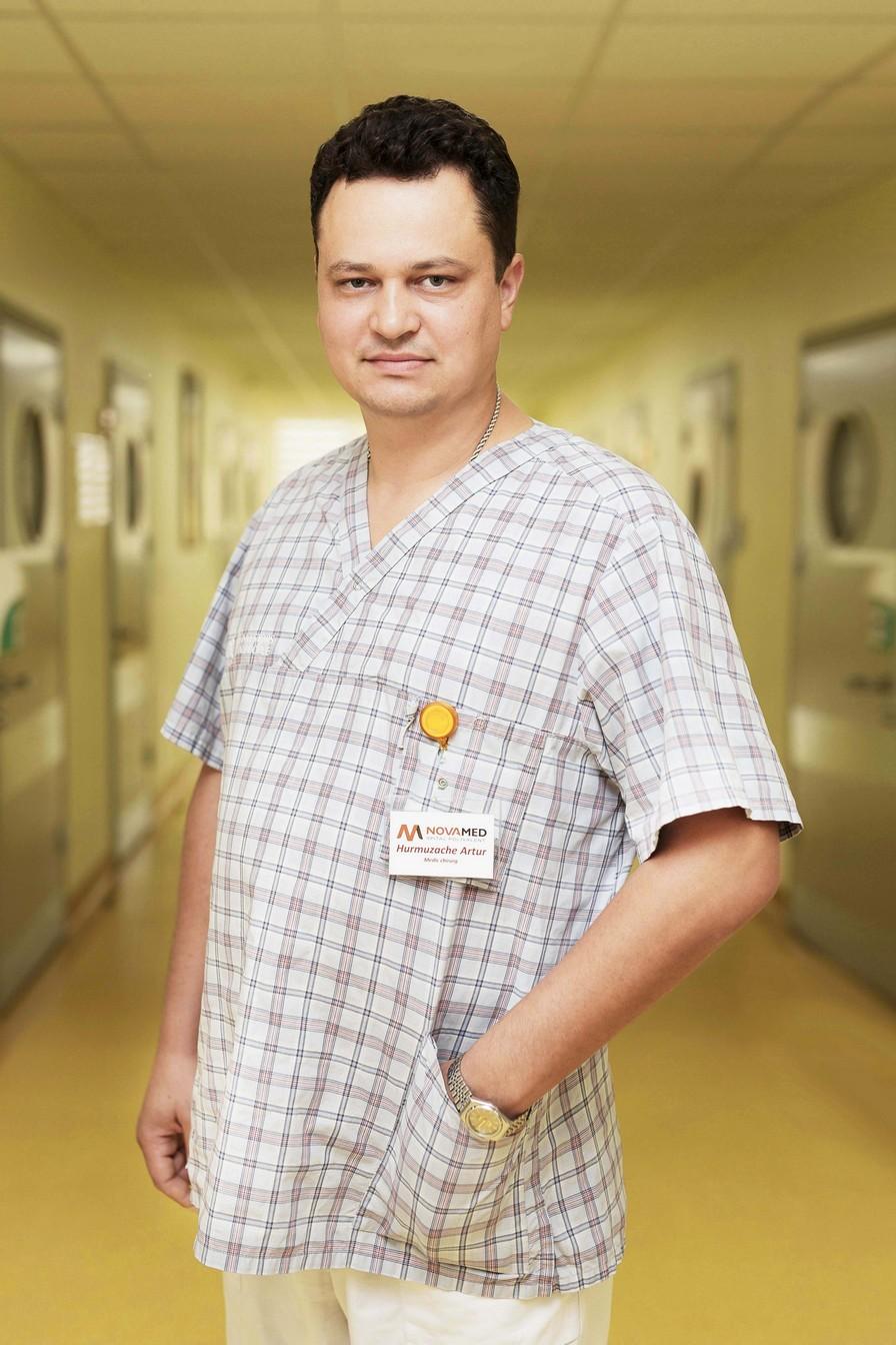 Артур Хурмузаке, общий хирург, больница Novamed