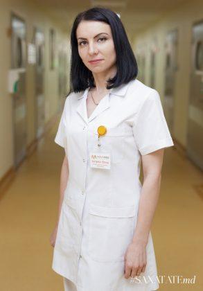 Elena Scripnic, medic pediatru