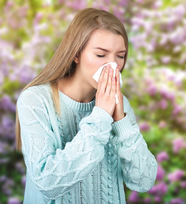 Как справиться с весенней аллергией