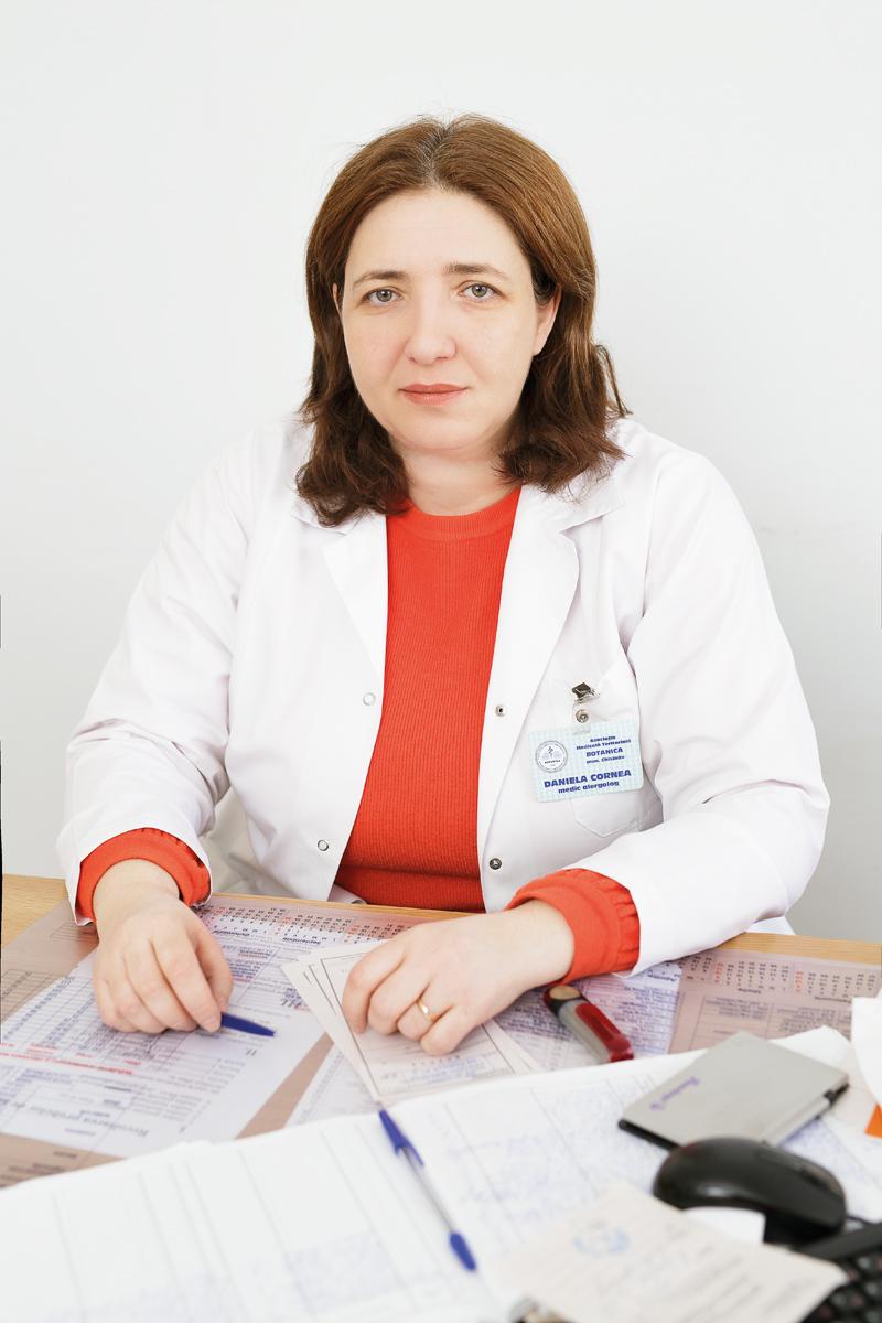 Даниела Корня, врач аллерголог-иммунолог