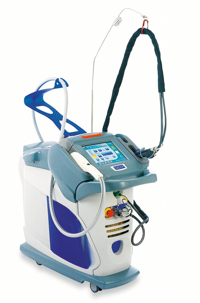 Лазеры DEKA в лечении купероза
