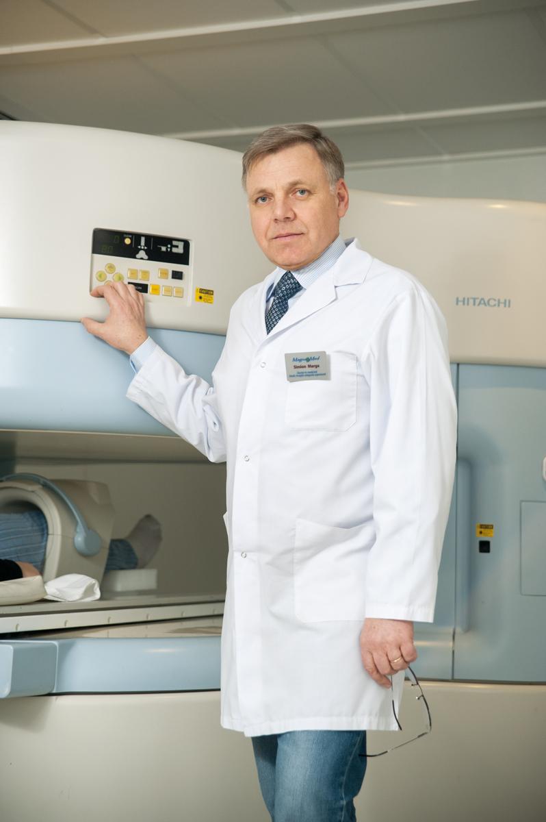 Симон Марга, врач-рентгенорадиолог, доктор медицинских наук