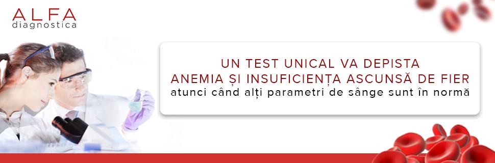 Deficitul ascuns de fier și anemia asociată acestei deficiențe