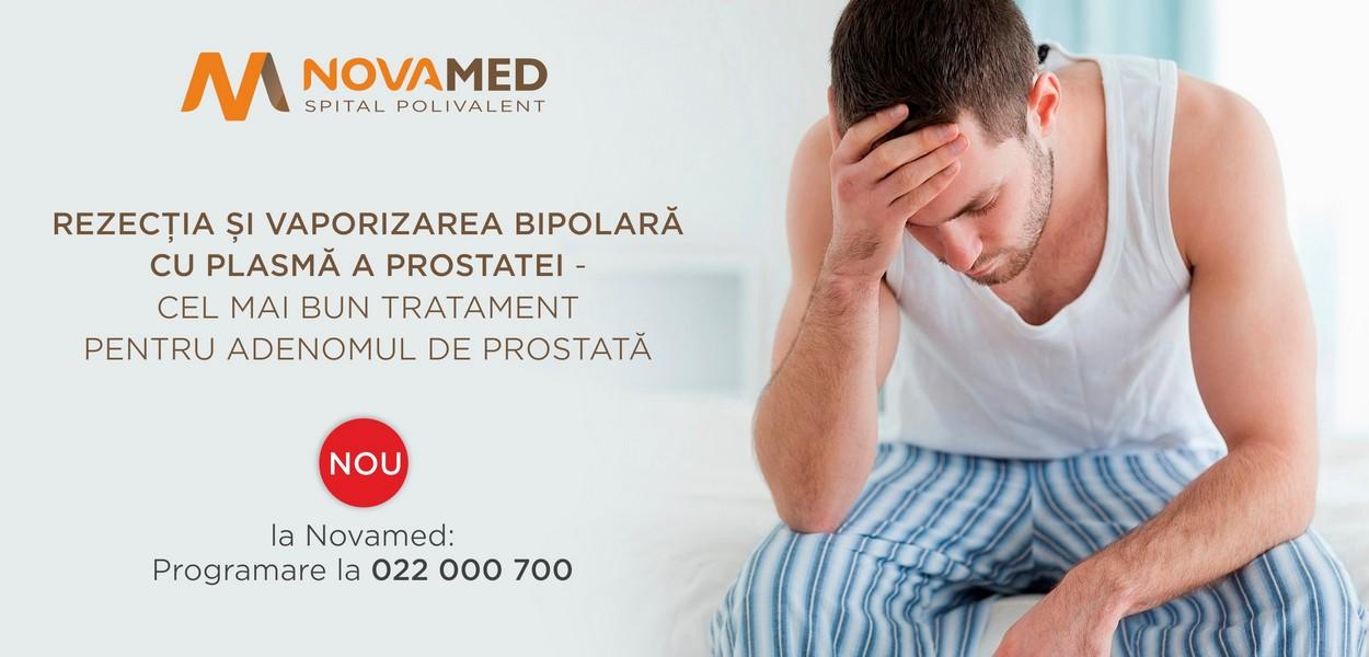 Novamed: Rezecția și vaporizarea bipolară cu plasmă a prostatei