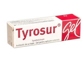 Тирозур: заживление ожогов и ран