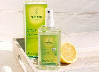цитрусовый дезодорант Weleda: блаженство с первой секунды