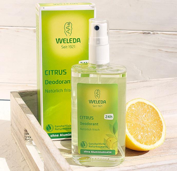 Цитрусовый дезодорант от Weleda