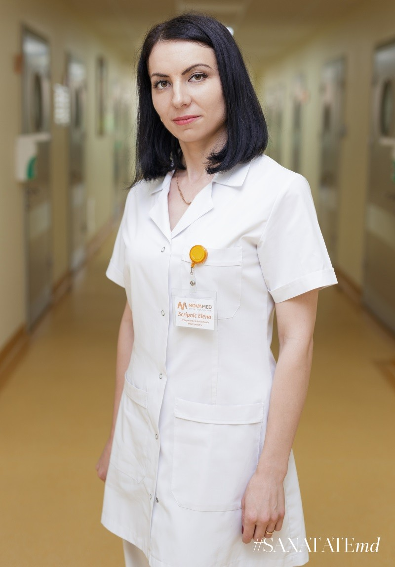 Елена Скрипник, врач-педиатр