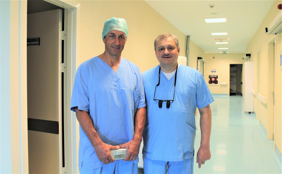 Доктор Майкл Кнаут, сердечно-сосудистый хирург из Германии
