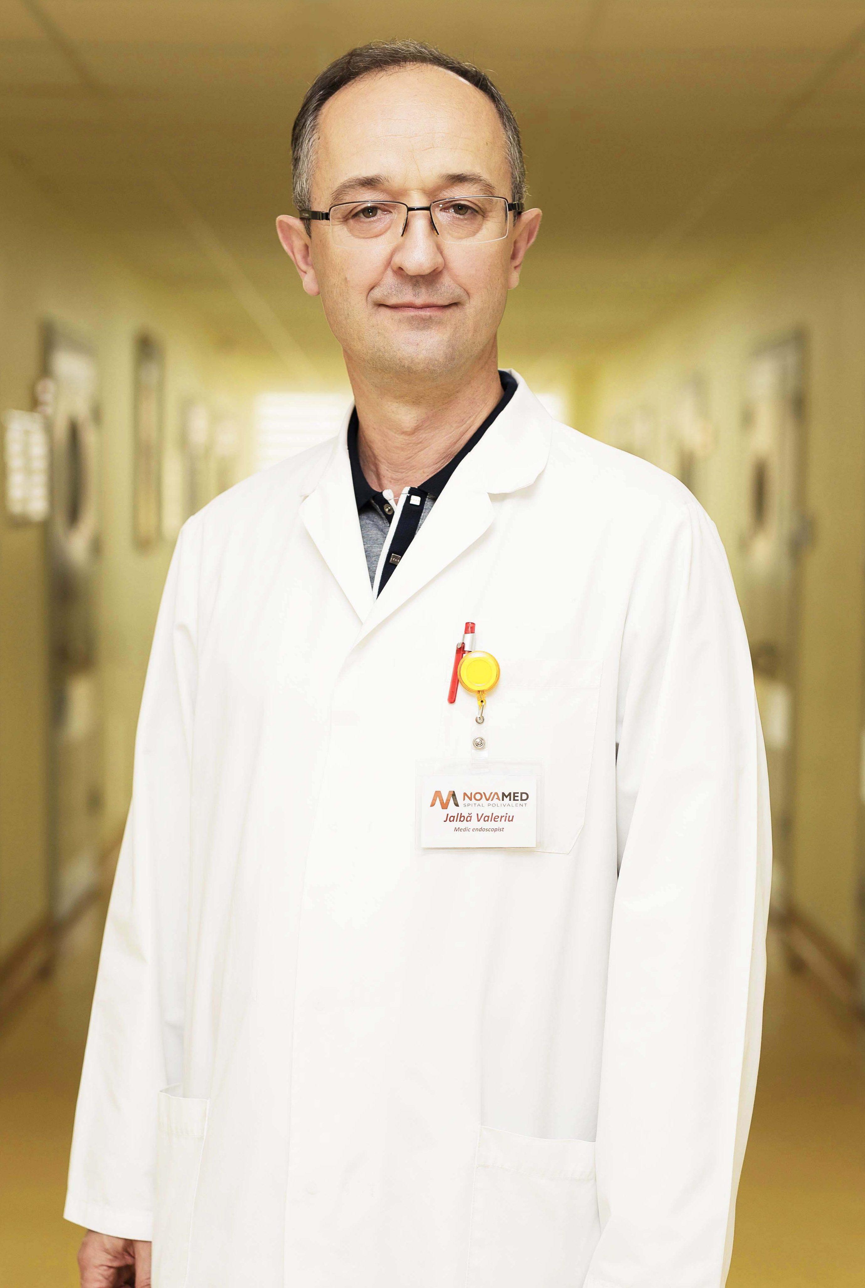 Валерий Жалбэ, врач-эндоскопист
