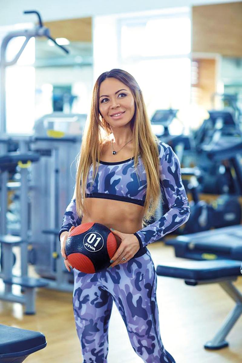Неонелия Гуцу директор, коуч-тренер фитнес-клуба Neogym