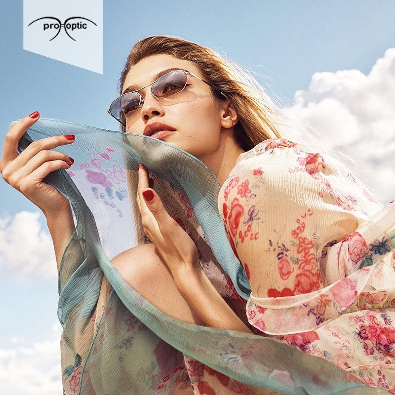 Выбираем очки по форме лица с Pro Optic!