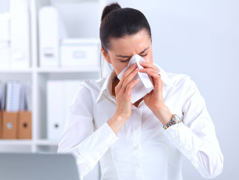 Synevo: Аллергия или простуда?