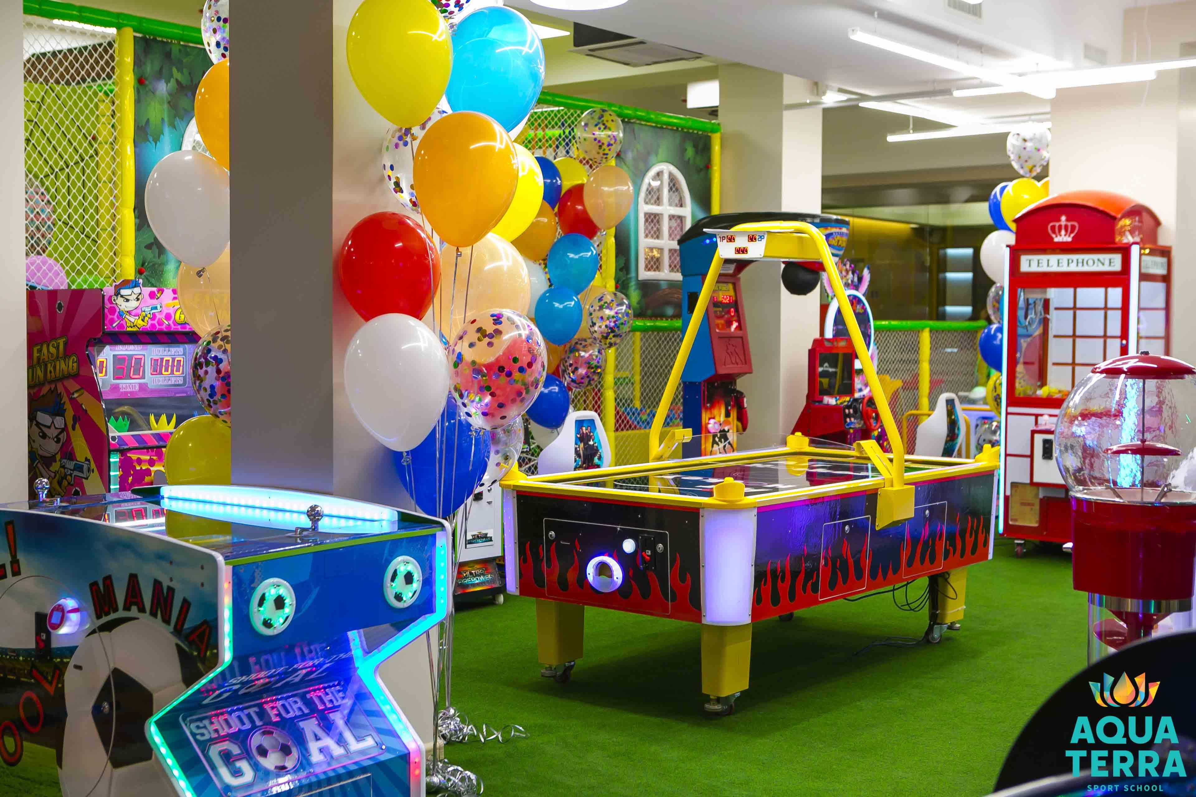 Игровая зона в Aquaterra Sport School