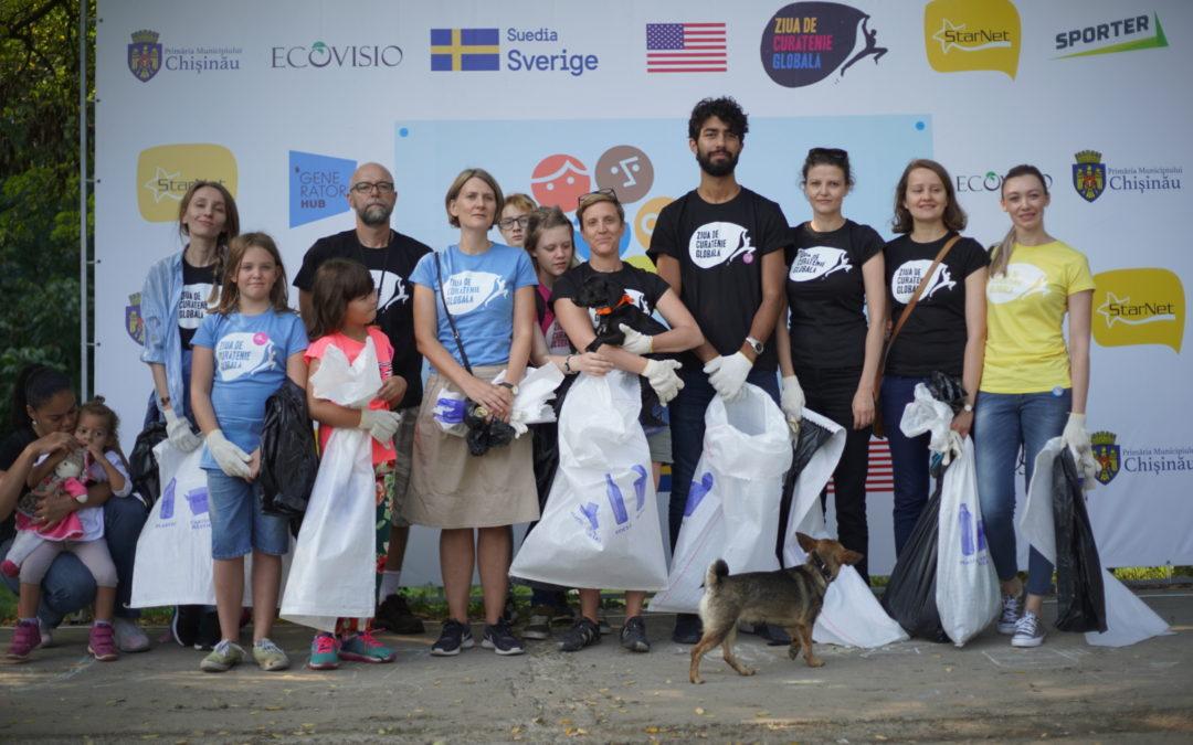 Всемирный день чистоты в Молдове