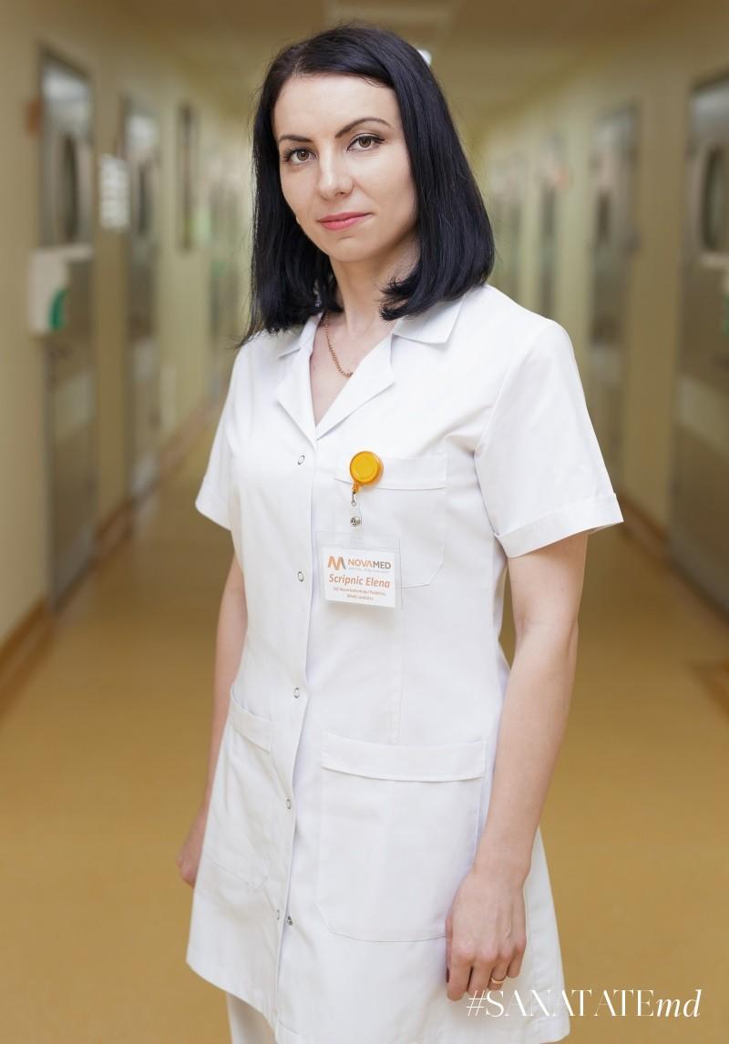 Елена Скрипник, педиатр, больница Novamed