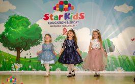 Показ моды в детском саду Star KIds