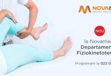 Nou la Novamed: Departamentul Fiziokinetoterapie