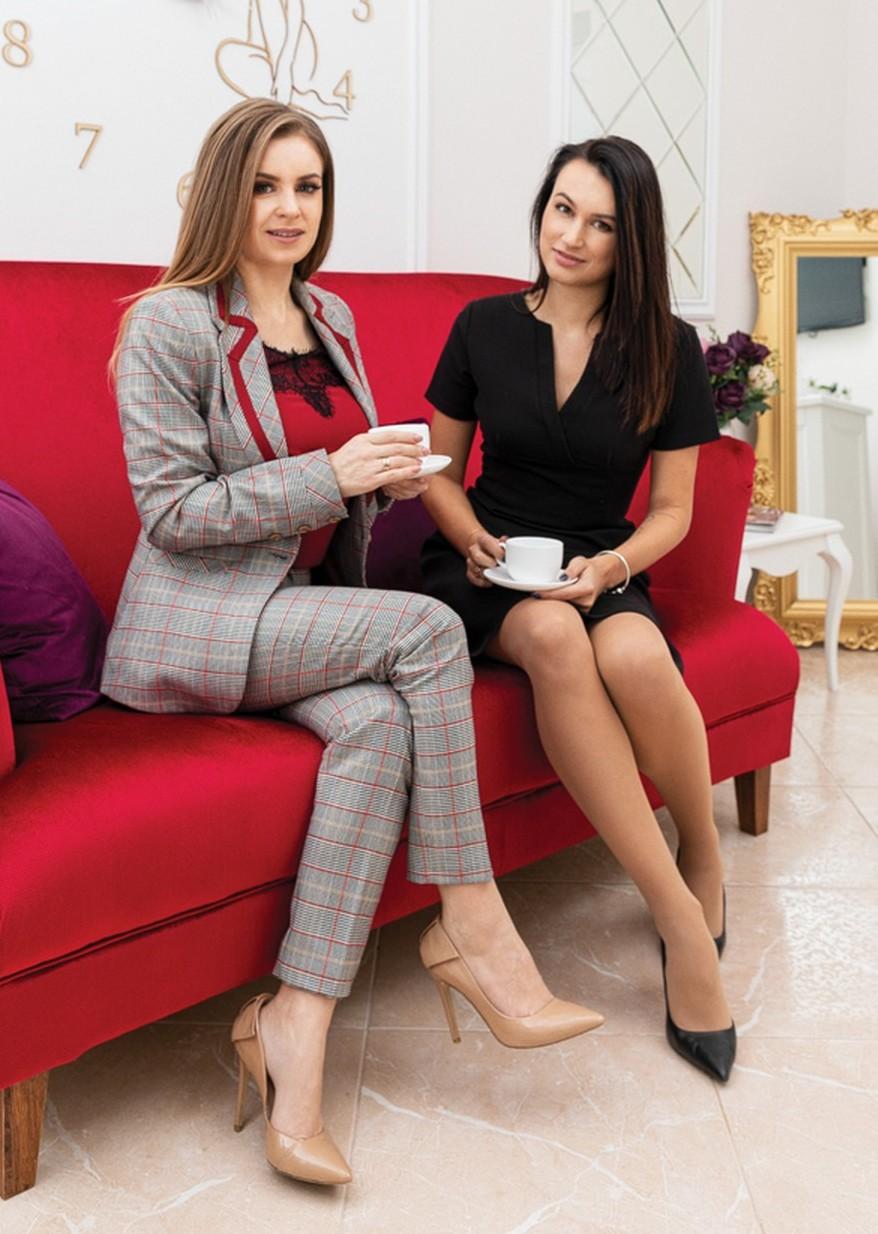 Елена Ганчукова в салоне DermaLife