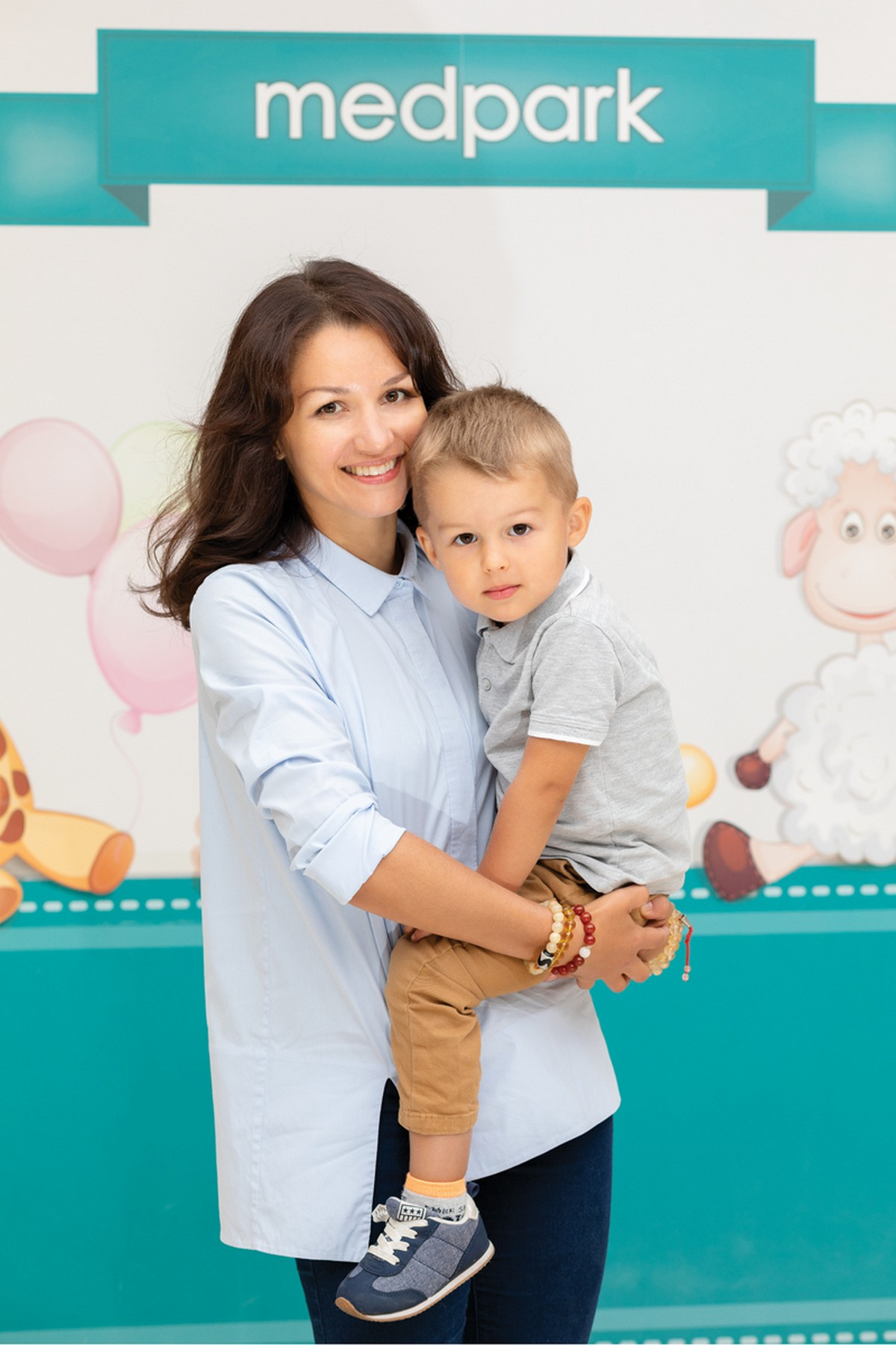 Medpark: Ирина Шубина и сын Егор