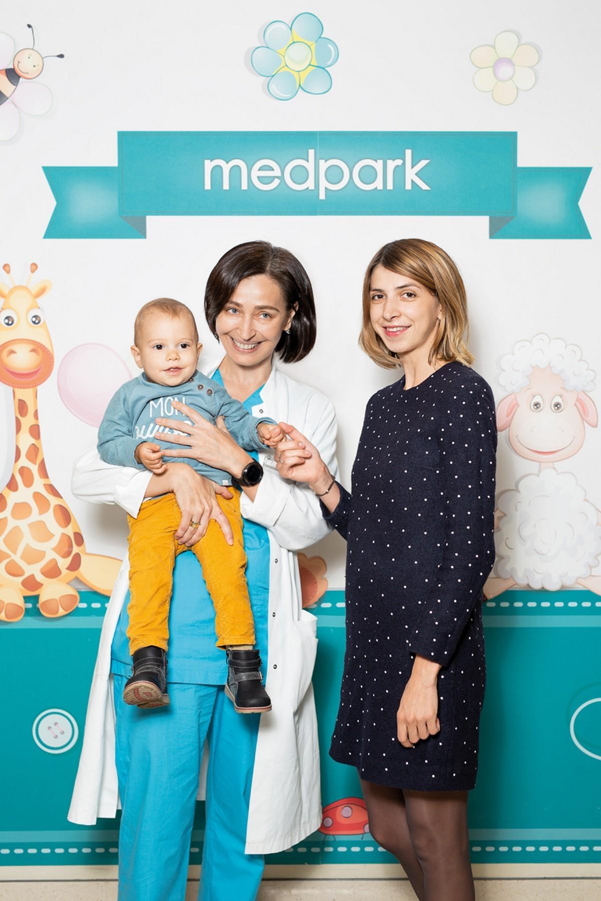 Medpark: Люба Харламова, 34 года и сын Даниил