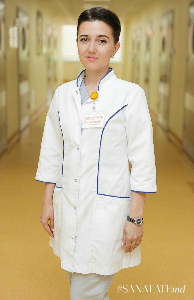 Наталья Ешану, врач-эндокринолог