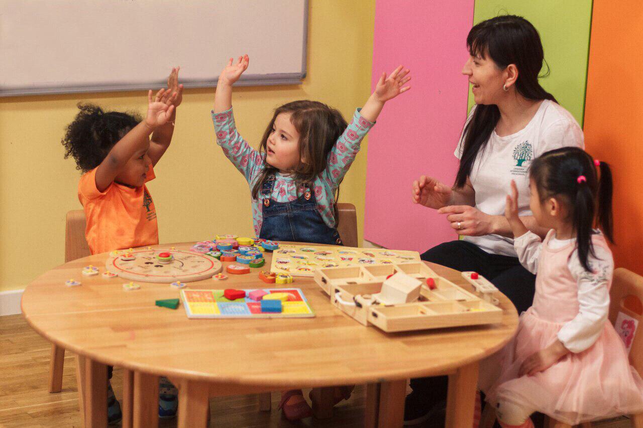 chips набор детей в международный детский сад