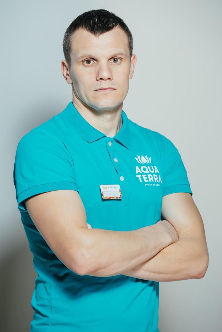 Сергей Морарь, кикбоксинг для детей в Aquaterra Sport School